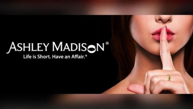 Heat map: Ashley Madison's users distribution